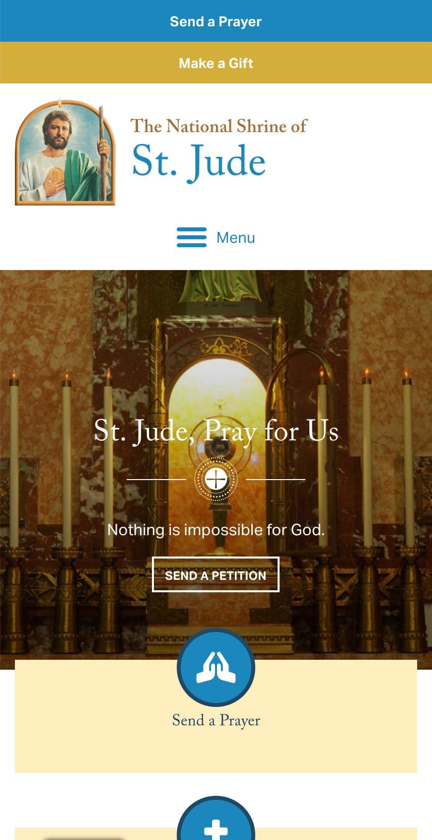 Shrine Of St Jude Homepage Mobile 1