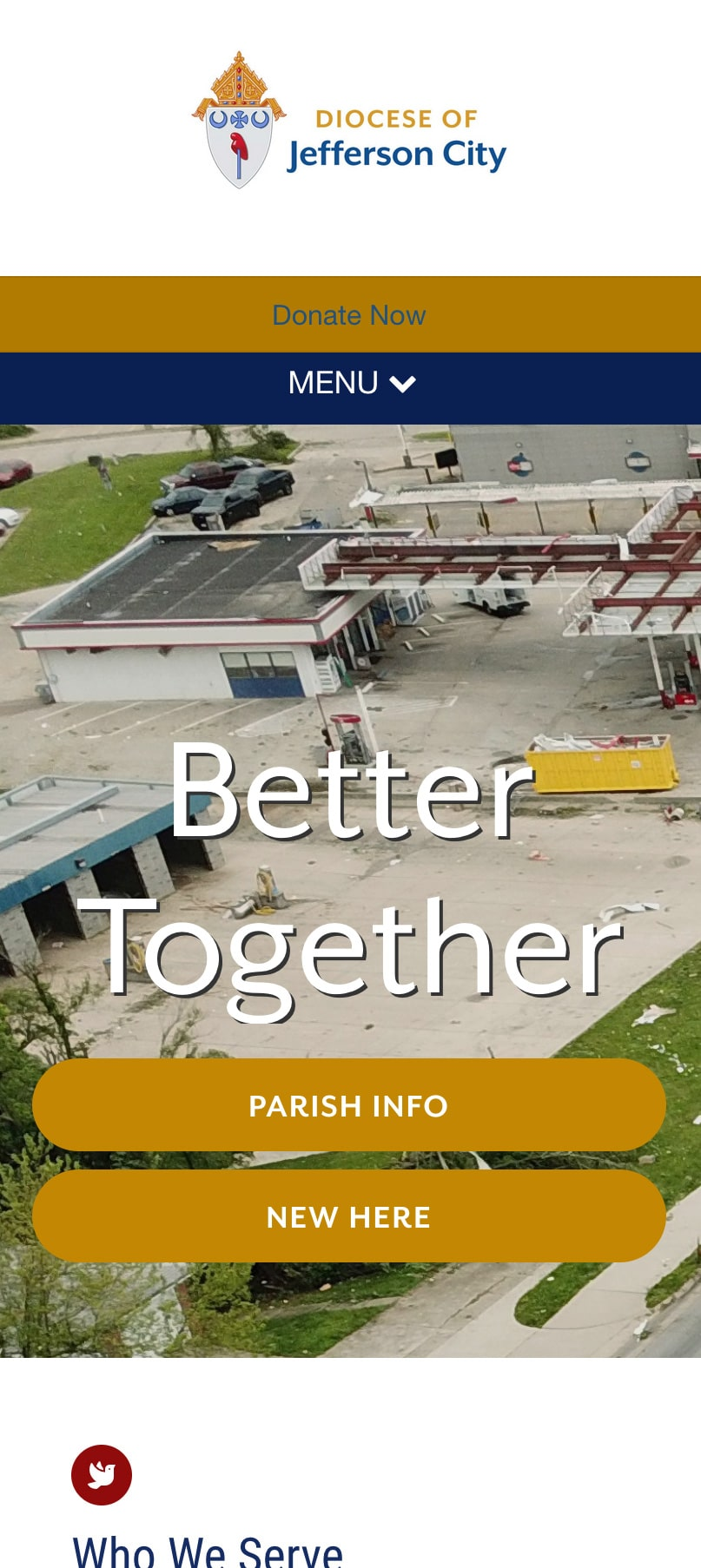Diocese Of Jefferson City Homepage Mobile 1