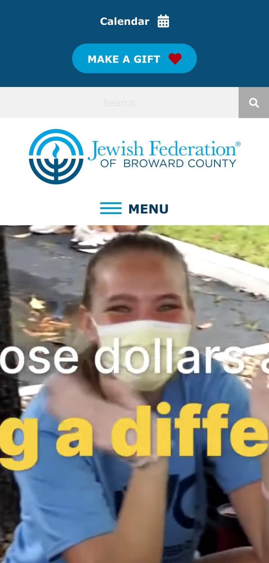 Jewish Broward Homepage Mobile 1