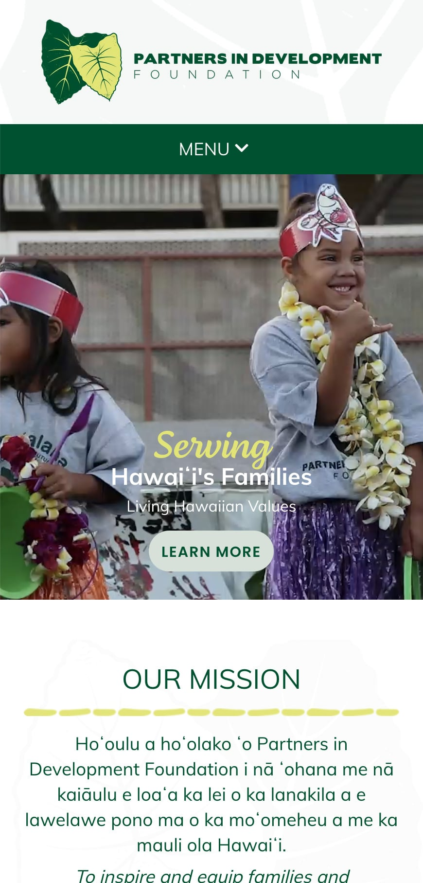 Pidf Homepage Mobile 1
